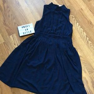 ModCloth Windy City Dress in Navy